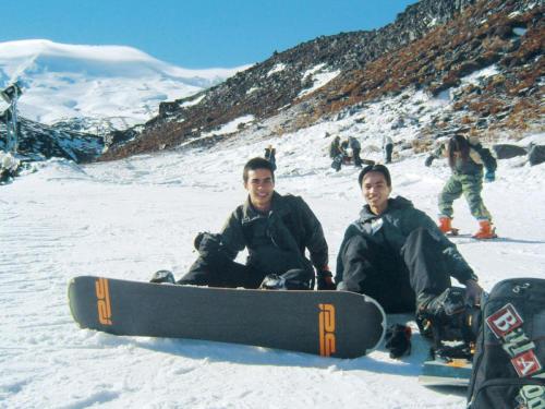 Auc leisure snowboarding
