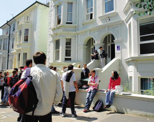 Brighton school frontentrance