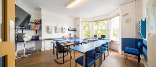 Cambridge Class Empty Classroom