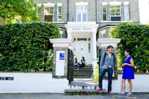 Hampstead school front
